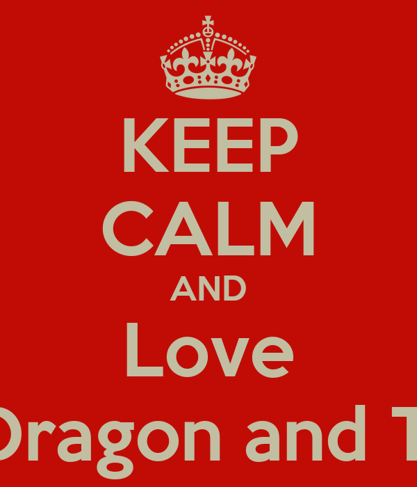 KEEP CALM AND Love G - Dragon and T.O.P