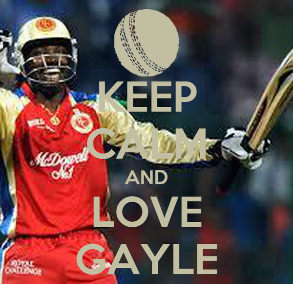 KEEP CALM AND LOVE GAYLE