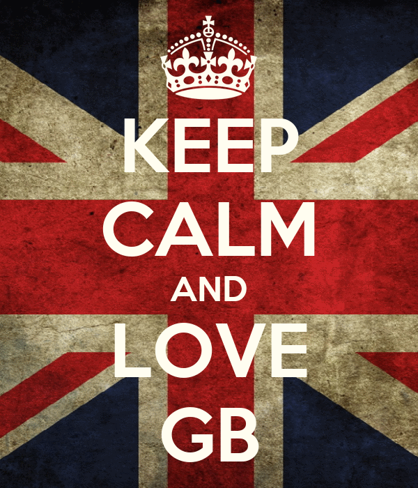 KEEP CALM AND LOVE GB