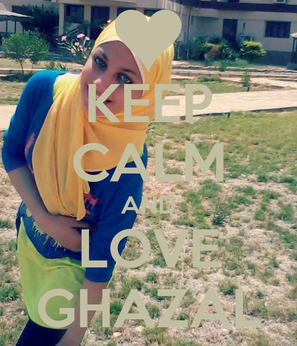 KEEP CALM AND LOVE GHAZAL