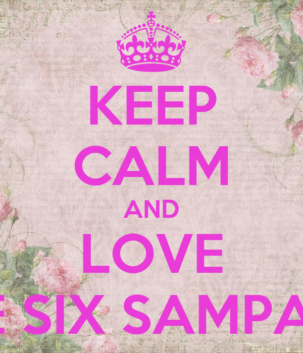 KEEP CALM AND LOVE GRADE SIX SAMPAGUITA