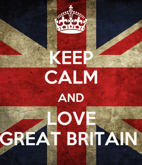 KEEP CALM AND LOVE GREAT BRITAIN