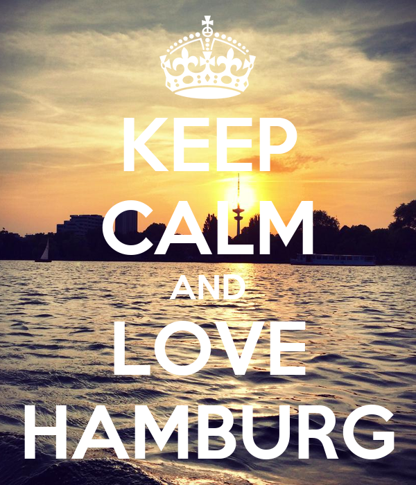 keep calm and love hamburg poster v2 keep calm o matic. Black Bedroom Furniture Sets. Home Design Ideas