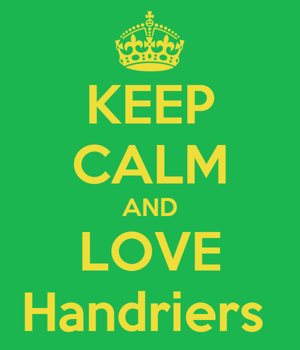 KEEP CALM AND LOVE Handriers