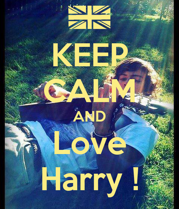 KEEP CALM AND Love Harry !