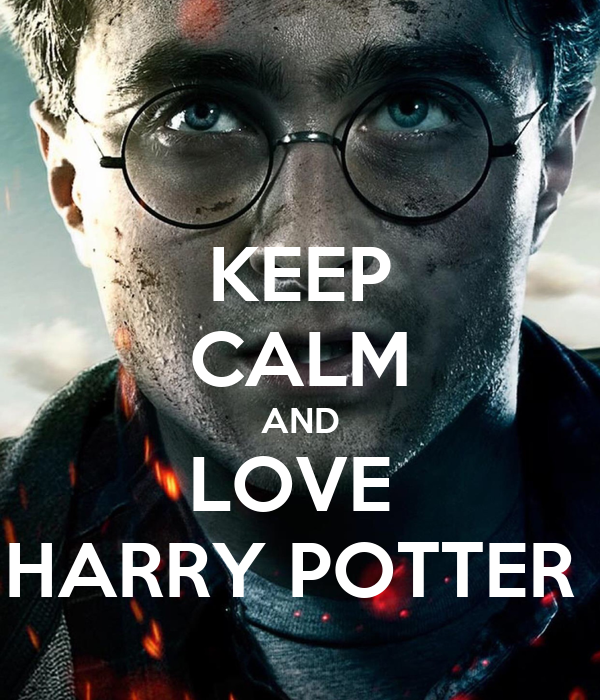 keep calm and love harry potter poster anna keep calm