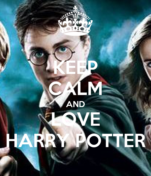 keep calm and love harry potter poster harry keep calm