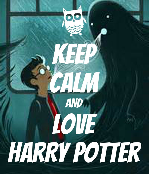 keep calm and love harry potter poster l keep calmomatic