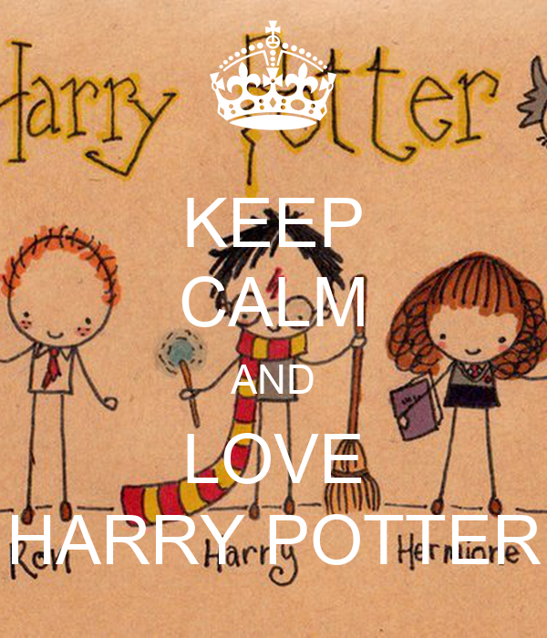 keep calm and love harry potter poster jhgkj keep calm