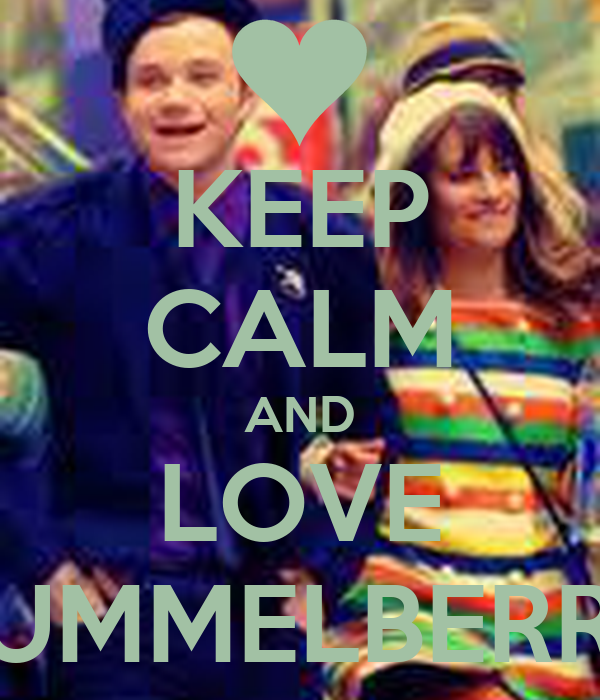 KEEP CALM AND LOVE HUMMELBERRY