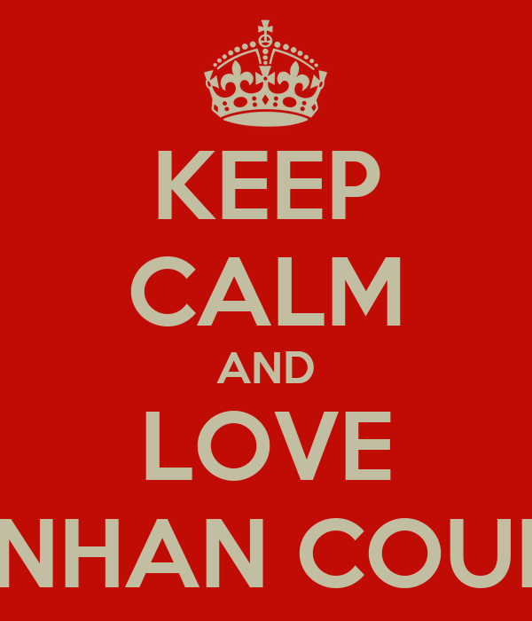 KEEP CALM AND LOVE HUNHAN COUPLE