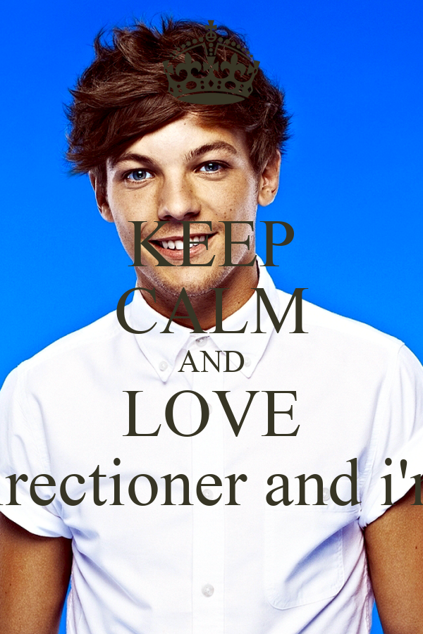 KEEP CALM AND LOVE I'm a Directioner and i'm proud