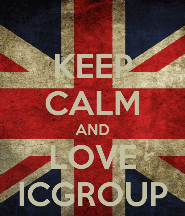 KEEP CALM AND LOVE ICGROUP