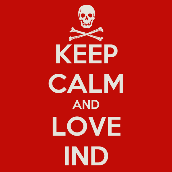 KEEP CALM AND LOVE IND