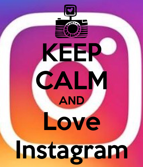 Keep calm and love instagram poster lisanne keep calm o matic
