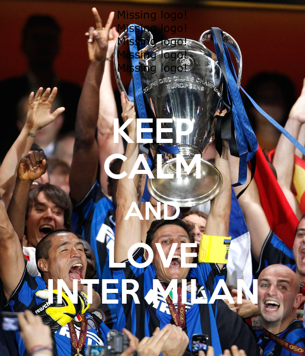 KEEP CALM AND LOVE INTER MILAN