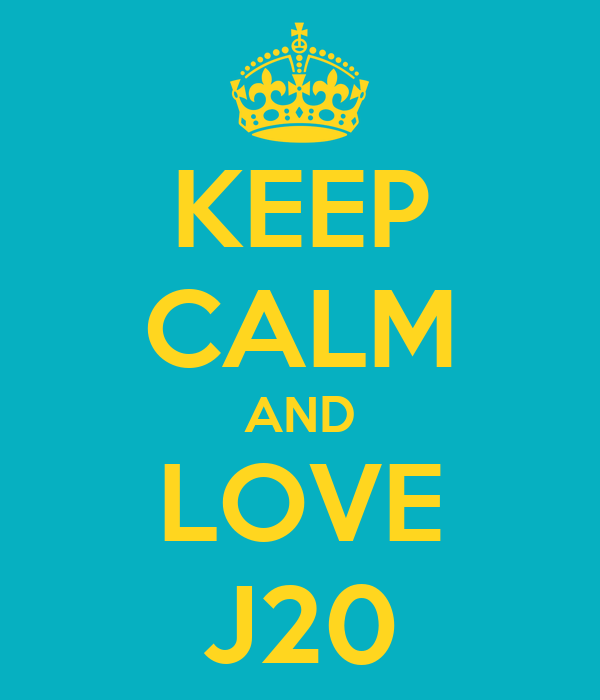KEEP CALM AND LOVE J20