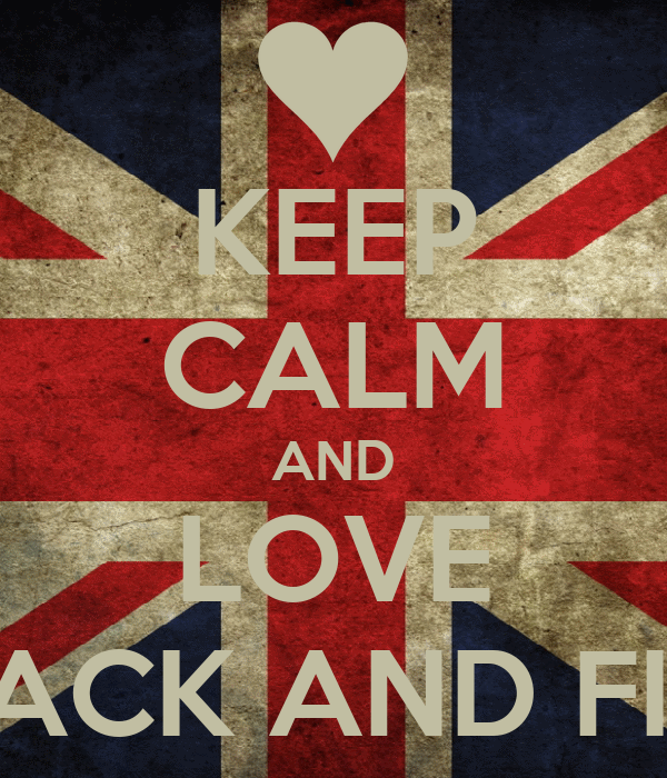 KEEP CALM AND LOVE JACK AND FIN