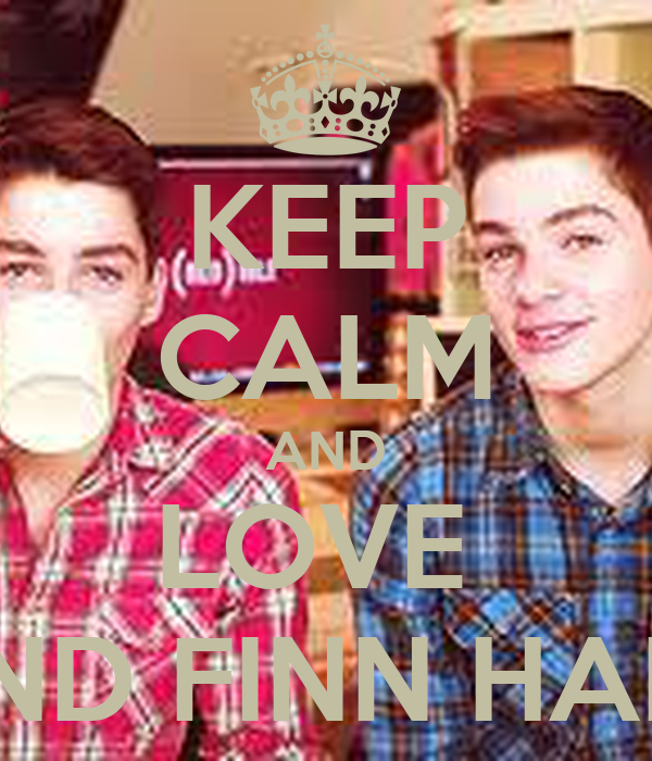 KEEP CALM AND LOVE  JACK AND FINN HARRIES <3