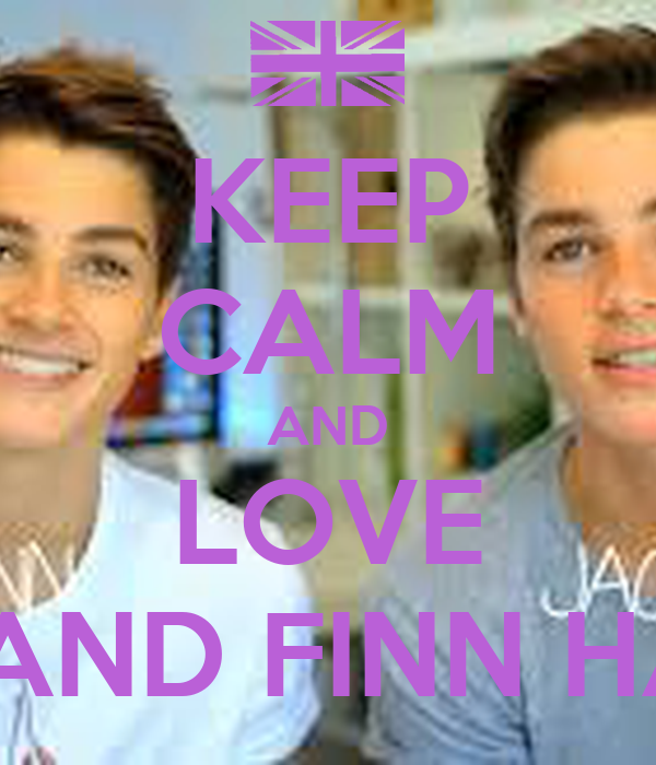 KEEP CALM AND LOVE JACK AND FINN HARRIES