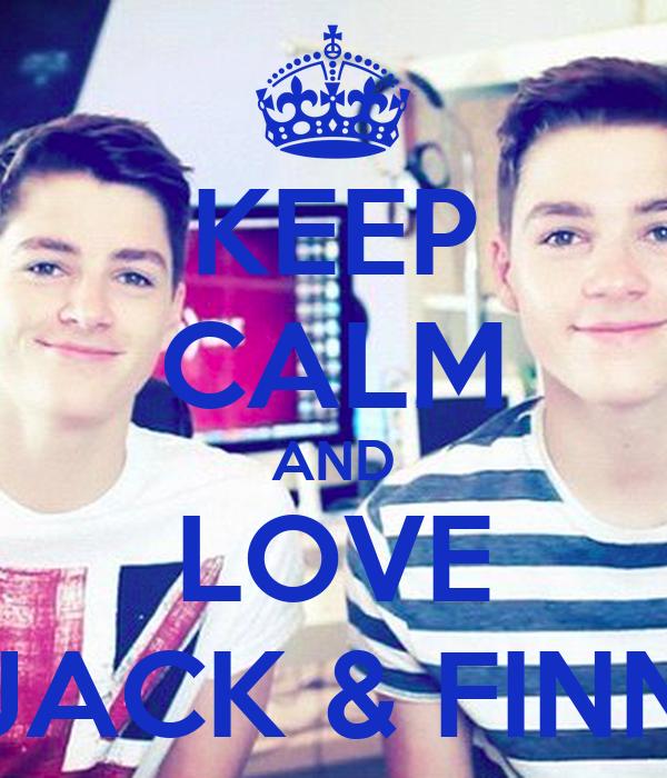 KEEP CALM AND LOVE JACK & FINN