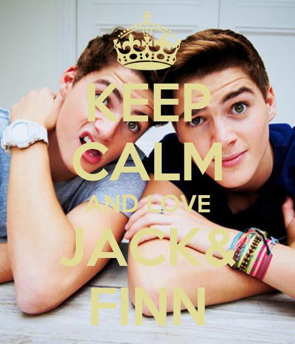 KEEP CALM AND LOVE JACK& FINN