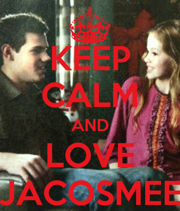 KEEP CALM AND LOVE JACOSMEE
