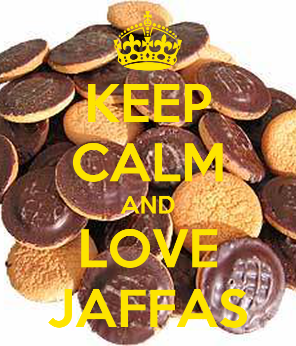KEEP CALM AND LOVE JAFFAS