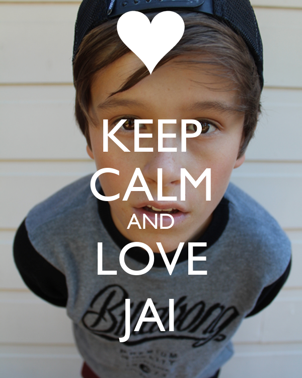 KEEP CALM AND LOVE JAI