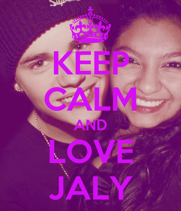 KEEP CALM AND LOVE JALY