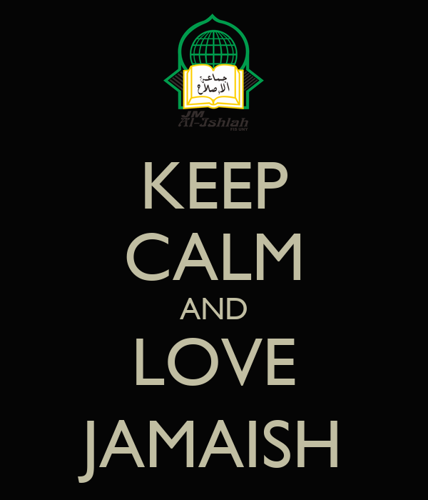 KEEP CALM AND LOVE JAMAISH