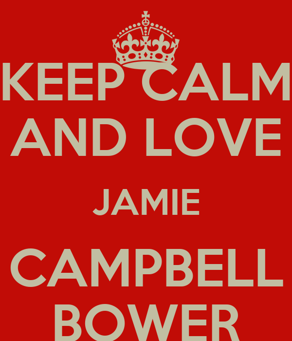 KEEP CALM AND LOVE JAMIE CAMPBELL BOWER