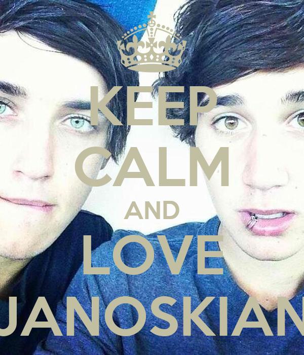 KEEP CALM AND LOVE JANOSKIAN