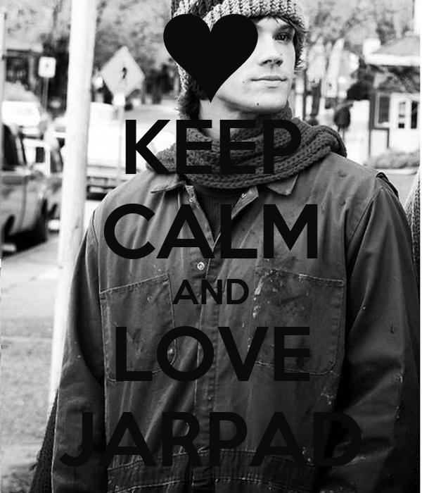 KEEP CALM AND LOVE JARPAD