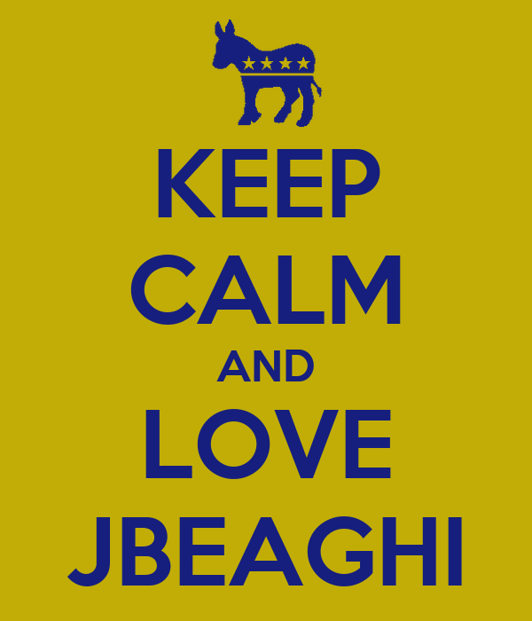 KEEP CALM AND LOVE JBEAGHI