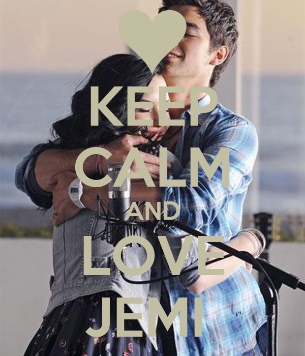 KEEP CALM AND LOVE JEMI