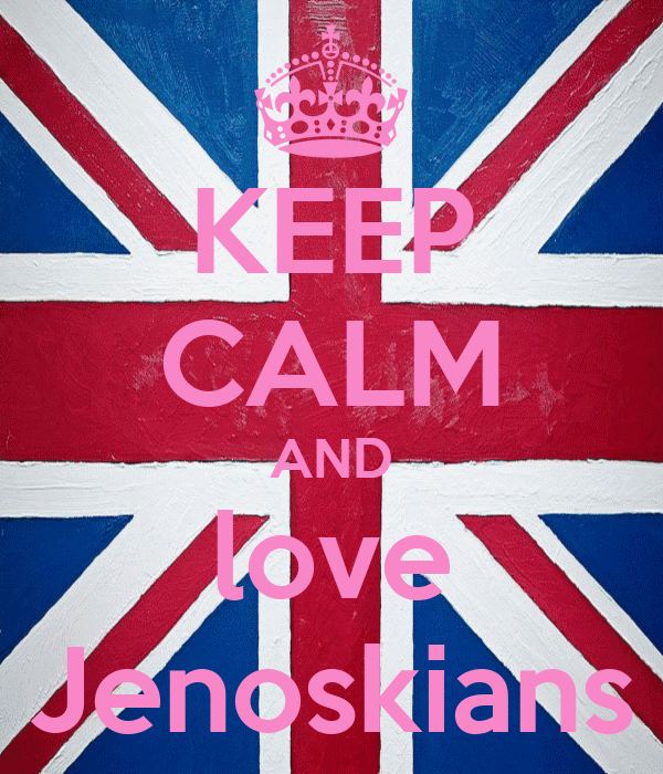 KEEP CALM AND love Jenoskians