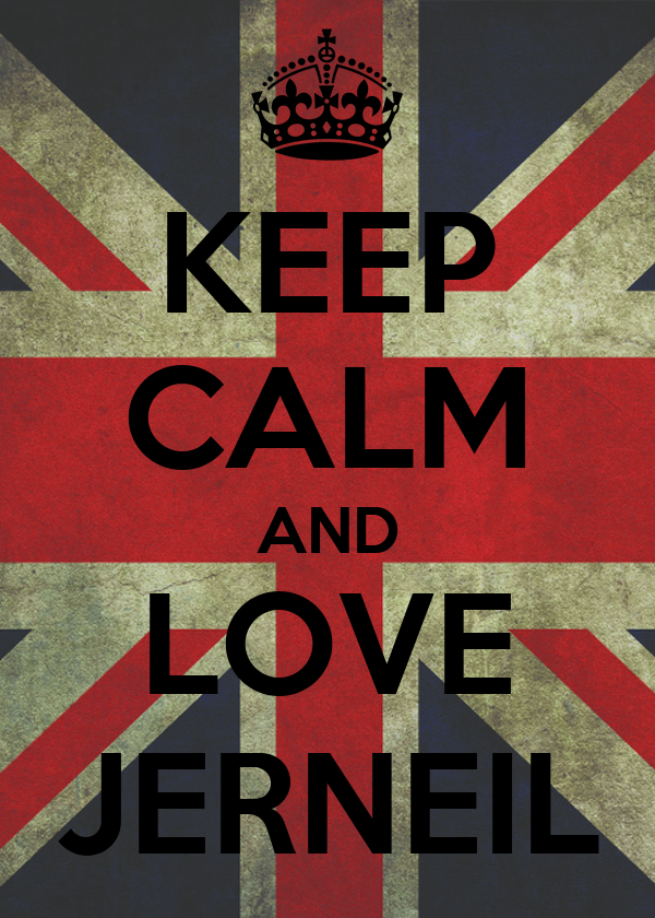 KEEP CALM AND LOVE JERNEIL