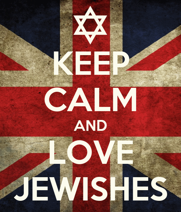 KEEP CALM AND LOVE JEWISHES
