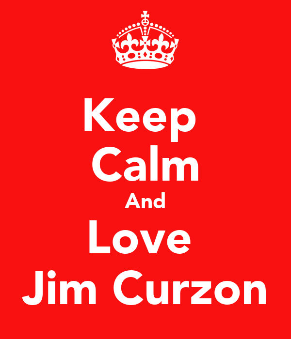 Keep  Calm And Love  Jim Curzon