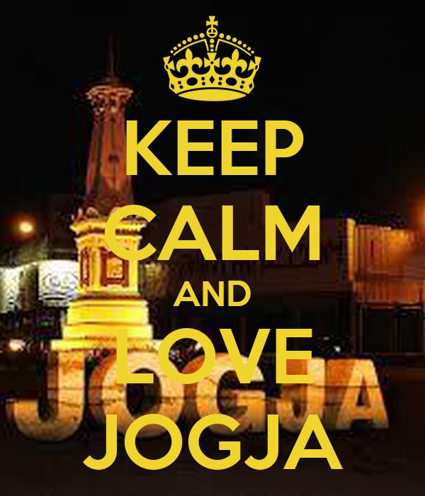 KEEP CALM AND LOVE JOGJA
