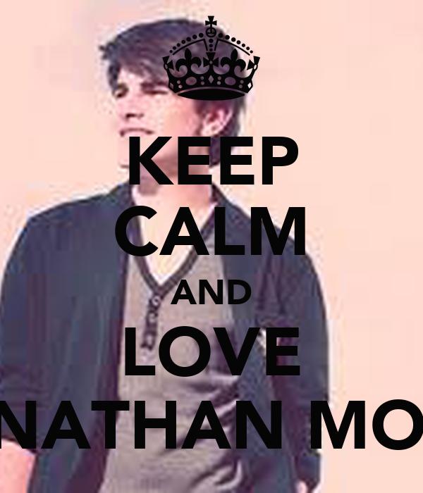 KEEP CALM AND LOVE JONATHAN MOLY