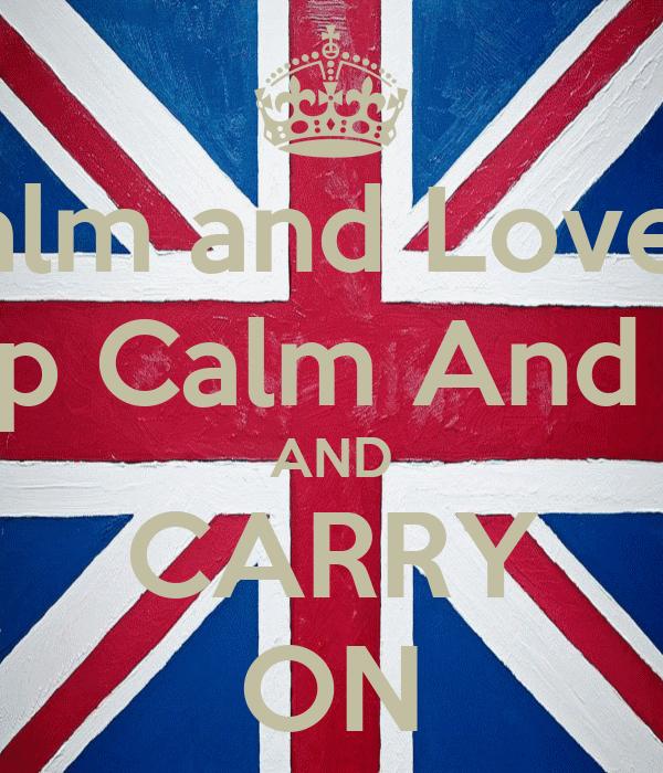 KEEP Calm and Love Jordan CALM Keep Calm And Love Abby AND CARRY ON