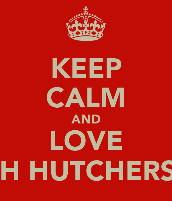KEEP CALM AND LOVE JOSH HUTCHERSOM