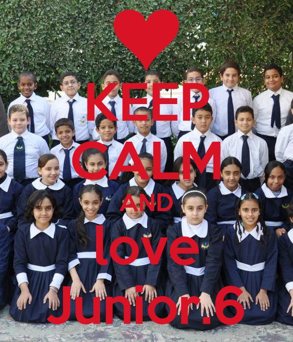 KEEP CALM AND love Junior.6
