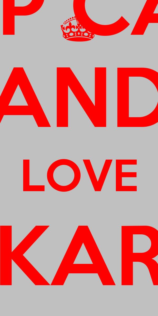 KEEP CALM AND LOVE KAKAROT ••LB••
