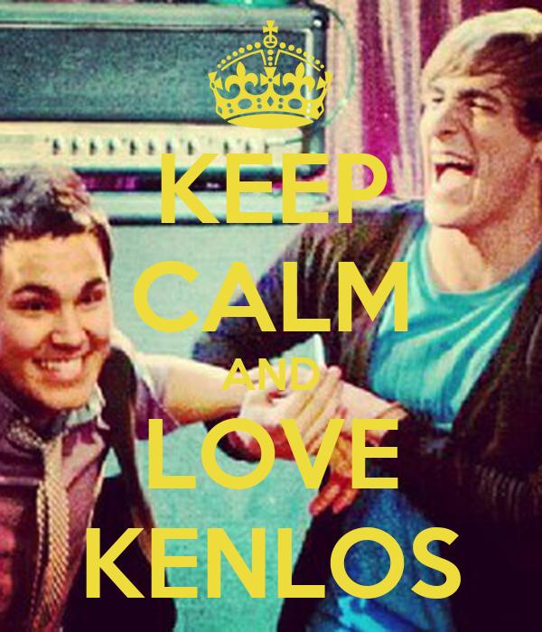 KEEP CALM AND LOVE KENLOS
