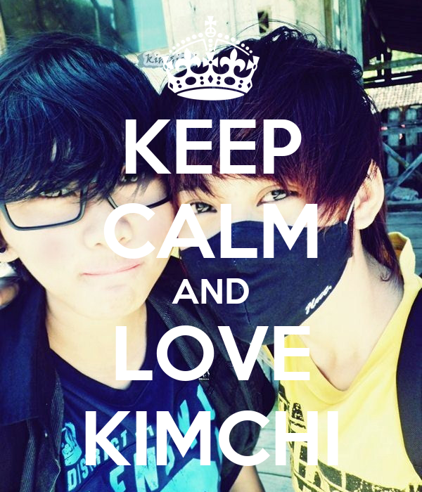 KEEP CALM AND LOVE KIMCHI