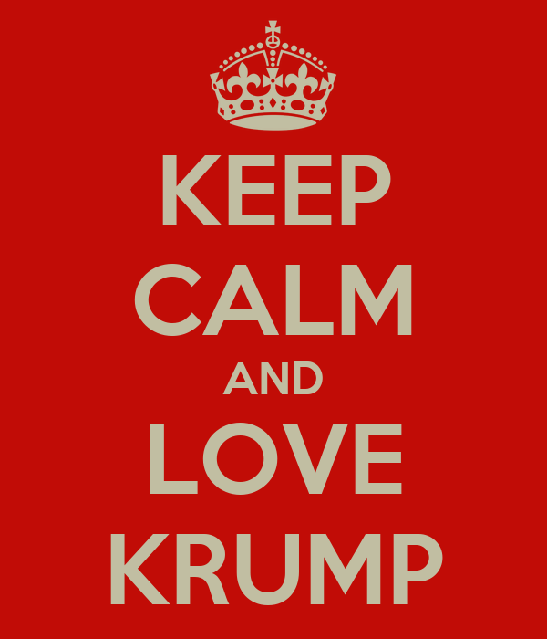 KEEP CALM AND LOVE KRUMP
