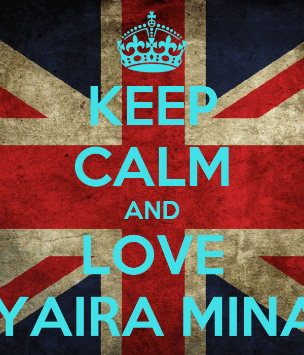 KEEP CALM AND LOVE KYAIRA MINAJ